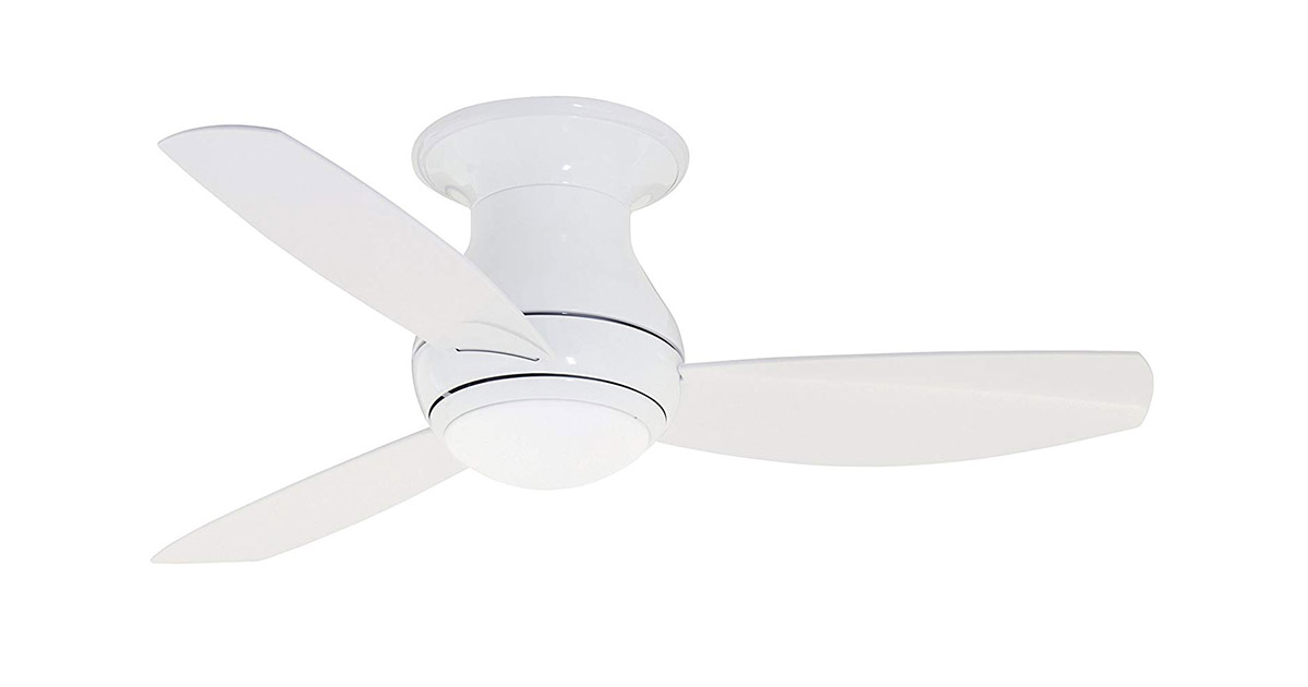Emerson CF144LWW Curva Sky 44-inches Indoor Outdoor 3 Blade Ceiling Fan image