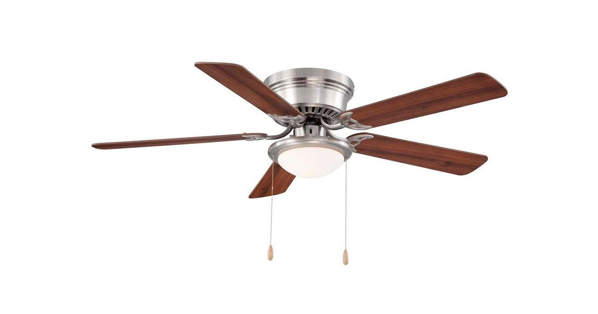 Hampton Bay FBA AL383BN Brushed Nickel Ceiling Fan image