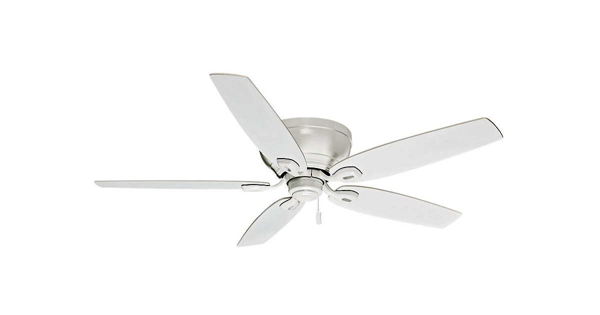 Casablanca 54103 54 inches Indoor Low Profile White Ceiling Fan image