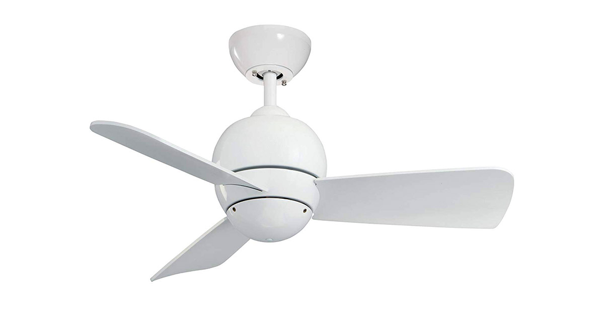 Emerson CF130WW 30-Inch Blades Indoor Outdoor Appliance White Finish Ceiling Fan image