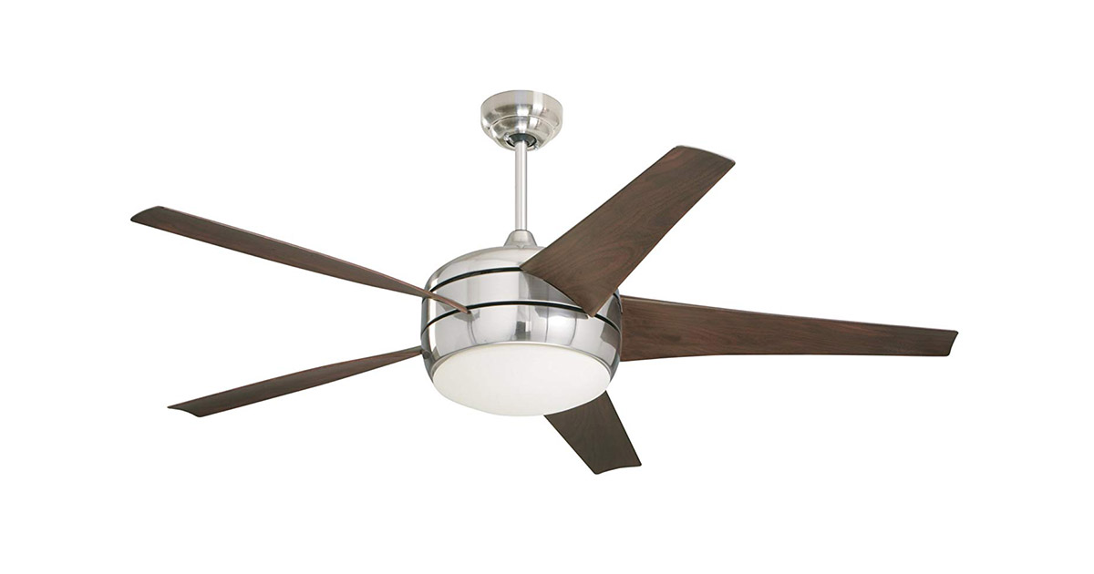Emerson CF955BS 54-Inch Blades Brushed Steel Finish Ceiling Fan image