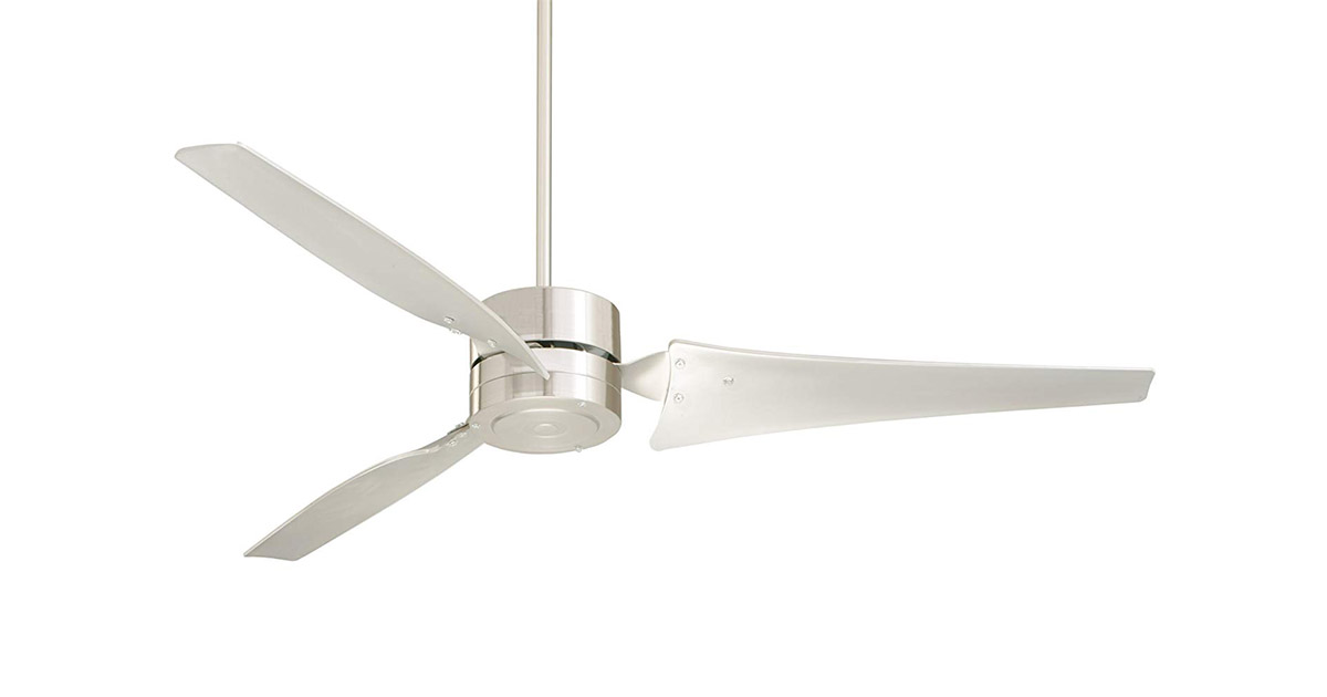 Emerson HF1160BS 60-Inch Brushed Steel Blades Indoor Industrial Brushed Steel Finish Ceiling Fan image