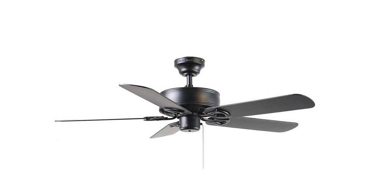 Harbor Breeze BDB52MBK5P 52inches Classic Style Matte Black Ceiling Fan image