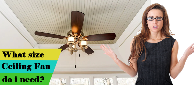 What Size Ceiling Fan Do I Need Image