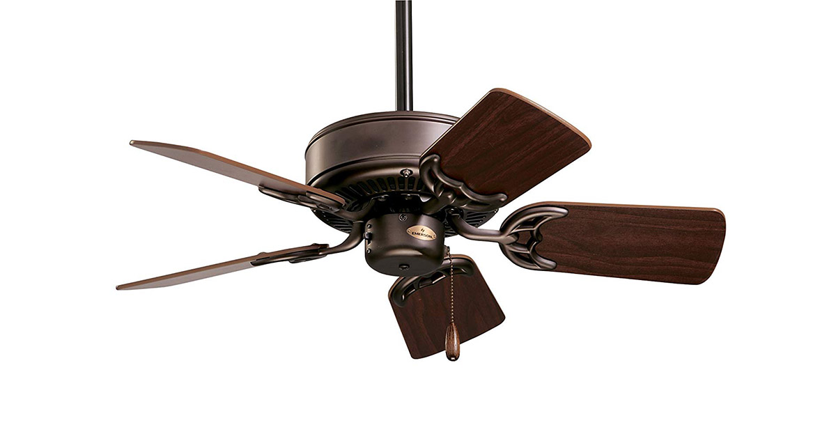 Emerson CF702ORB Northwind Indoor 29-Inch Blades Oil Rubbed Bronze Finish Ceiling Fan image