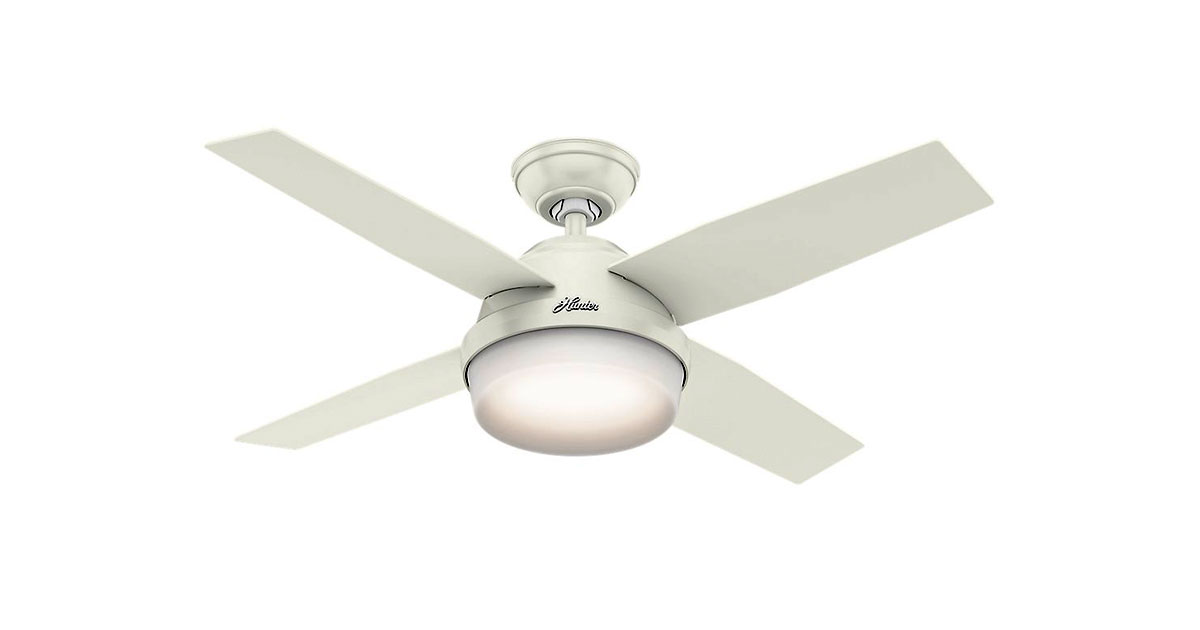 Hunter-59246-Dempsey-44-inch-White-Indoor-Ceiling-Fan-image