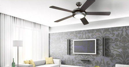 10 Gorgeous Ceiling Fans with Lights – Enjoy the cool air with attractive lighting!