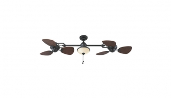 Harbor Breeze 74 Twin Breeze Ceiling Fan – Stunning Looks with Lifetime Durability!