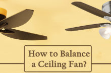 Guide on balancing a Ceiling Fan