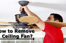 Guide to Remove a Ceiling Fan – Is it Safe to Remove Wattage Limiter?