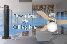 Is Tower Fan Better Than Ceiling Fan?
